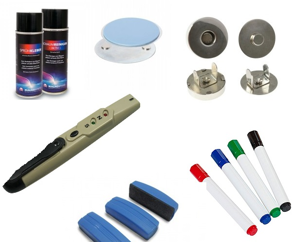 Magnetic Accessories & Whiteboard Magnets