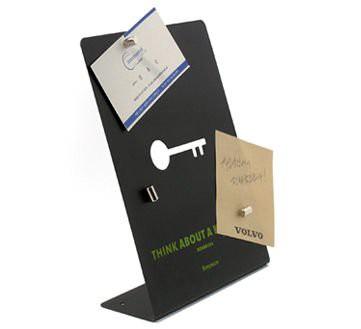 stainless steel magnetic board desktop memo board notice board 12 cm x 22 cm magnets for the. Black Bedroom Furniture Sets. Home Design Ideas