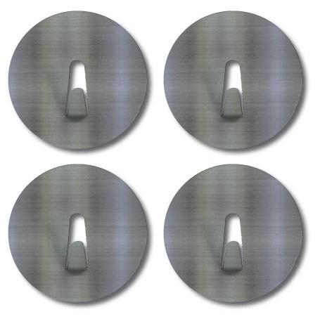 mini magnet hook 4cm 4 magnet hooks small stainless steel magnetic gift ideas. Black Bedroom Furniture Sets. Home Design Ideas
