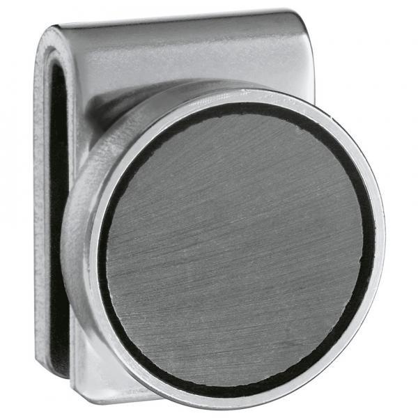 stainless steel magnetic holder 2 pack office noticeboard magnets magnetic key holder. Black Bedroom Furniture Sets. Home Design Ideas